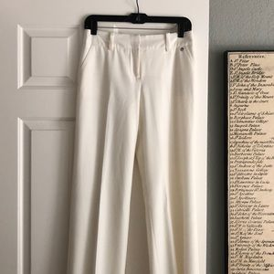 Trina Turk white trouser pants